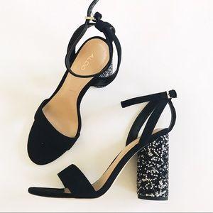 Aldo block heel sandals